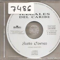 CDs de Música: ILEGALES DEL CARIBE - SUEÑO CONTIGO (CDSINGLE CAJA PROMO, BMG MUSIC 1997). Lote 205584336