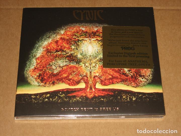 (SIN ABRIR) CYNIC - KINDLY BENT TO FREE US ______ (DIGIPAK EDICIÓN LIMITADA) EX- DEATH (Música - CD's Heavy Metal)