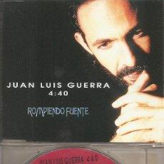 CDs de Música: JUAN LUIS GUERRA Y 4:40 - ROMPIENDO FUERTE / GUAVABERRY (CDSINGLE CAJA, KAREN DISCOS 1993). Lote 205586635