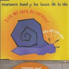 CDs de Música: MARIANO'S BAND Y LOS LOCOS DE LA ISLA - CON MI CARA DE CARACOL (THREE VERSIONS). Lote 205587677