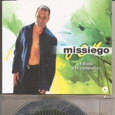 CDs de Música: MISSIEGO - EL BAILE DEL PIMPOLLO (CDSINGLE CAJA PROMO, VALE MUSIC 1999). Lote 205588057