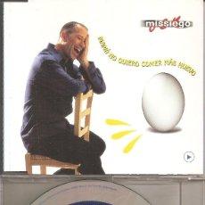 CDs de Música: MISSIEGO - MAMA NO QUIERO COMER MAS HUEVO (CDSINGLE CAJA PROMO, VALE MUSIC 1999). Lote 205588181