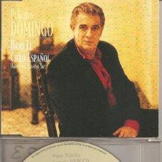 CDs de Música: PLACIDO DOMINGO - CLAVEL SEVILLANO/CUERDAS DE MI GUITARRA/ESPAÑOLERIAS/GRANADA. Lote 205588651