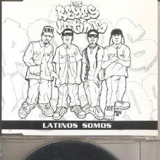 CDs de Música: LOS REYES LATINOS - LATINOS SOMOS (FIVE VERSIONS) (CDSINGLE CAJA, WEA 1995). Lote 205589352