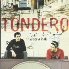 CDs de Música: TONDERO - SABOR A MALA / ME ARRIESGARE (CDSINGLE CAJA, SONY MUSIC 2003). Lote 205590022