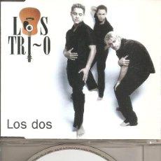 CDs de Música: LOS TRIOS - LOS DOS (CDSINGLE CAJA PROMO, HORUS 2000). Lote 205590188