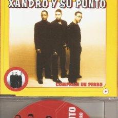 CDs de Música: XANDRO Y SU PUNTO - COMPRATE UN PERRO (FOUR VERSIONS) (CDSINGLE CAJA, VALE MUSIC 2000). Lote 205590383