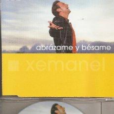 CDs de Música: XEMANEL - ABRAZAME Y BESAME (CDSINGLE CAJA, LATIN RECORDS 2002). Lote 205590567