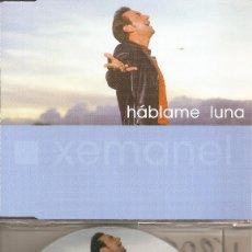 CDs de Música: XEMANEL - HABLAME LUNA (CDSINGLE CAJA, LATIN RECORDS 2002). Lote 205590633