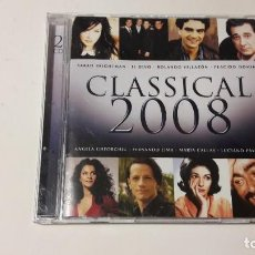 CDs de Música: CD CLASSICAL 2008 / DOBLE CD - 2007 - EMI - VARIOS ARTISTAS. Lote 205603153