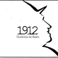 CDs de Música: CUADRILLA DE ALEDO - CD 1912 (DISCOS TRIANA, 2019). Lote 231548080