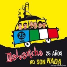 CDs de Música: MALVARICHE - CD 25 AÑOS NO SON NADA (2011). Lote 205605693