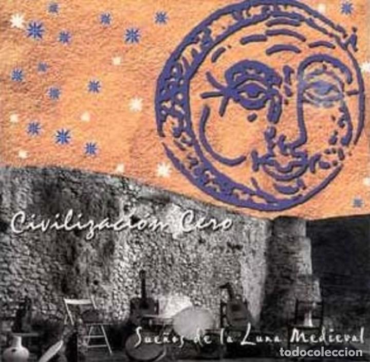 CIVILIZACIÓN CERO - CD SUEÑOS DE LA LUNA MEDIEVAL (PLANET MUSIC, 2000) (Música - CD's Country y Folk)