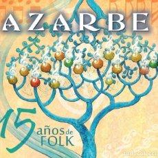 CDs de Música: AZARBE - CD 15 AÑOS DE FOLK (EL SEÑOR GUINDILLA RECORDS, 2015). Lote 221432297