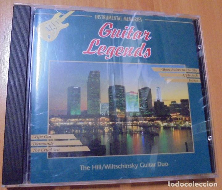 CD GUITAR LEGENDS INSTRUMENTAL MEMORIES 1994 ELAP MUSIC LTP (Música - CD's Jazz, Blues, Soul y Gospel)
