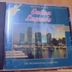 CDs de Música: CD GUITAR LEGENDS INSTRUMENTAL MEMORIES 1994 ELAP MUSIC LTP. Lote 205605845