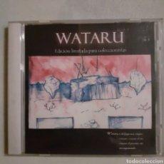 CDs de Música: WATARU. EDICION LIMITADA PARA COLECCIONISTAS. NO PROBADO. VALORACIÓN VISUAL VG++. Lote 205606020