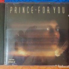 CDs de Música: PRINCE CON SU MÍTICO ÁLBUM FOR YOU DEL AÑO 1978. DESCATALOGADO.. Lote 205611827