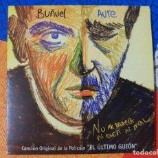 """CDs de Música: LUIS EDUARDO AUTE Y LUIS BUÑUEL. BSO ORIGINAL DE """"EL ÚLTIMO GUIÓN"""". LOS GOYA 2009. RAREZA. DIFÍCIL. Lote 205611968"""