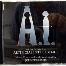 CDs de Música: ARTIFICIAL INTELLIGENCE - JOHN WILLIAMS. Lote 205582107