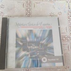 CDs de Música: MÚSICA CLÁSICA ESPAÑA. Lote 205658062