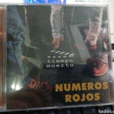 CDs de Música: NÚMEROS ROJOS CD TIEMPO MUERTO PRECINTADO. Lote 205679850