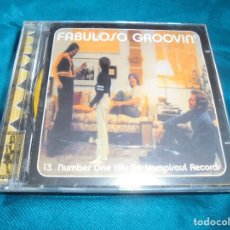 CDs de Música: FABULOSO GROVIN´. 13 NUMBER ONE HITS DE VAMPISOUL RECORDS. CD. Lote 205700166