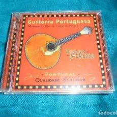 CDs de Música: SIDONIO PEREIRA. GUITARRA PORTUGUESA. HARMONIA MUNDI, 1994. EDC. FRANCIA. CD (#). Lote 205712800