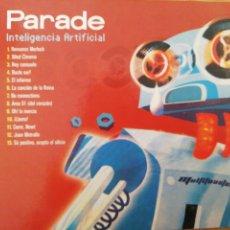 CDs de Música: PARADE. INTELIGENCIA ARTIFICIAL.SPICNIC, SPAIN, 2003.. Lote 205713917