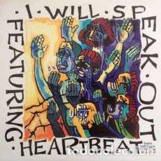 CDs de Música: HEARTBEAT (3) - I WILL SPEAK OUT: SONGS FOR A NEW GENERATION VOLUME TWO (LP) LABEL:MYRRH CAT#: MYRR. Lote 205722643