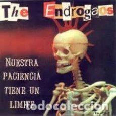 CDs de Música: THE ENDROGAOS - NUESTRA PACIENCIA TIENE UN LIMITE - PUNK - WC RECORDS - PRECINTADO. Lote 205724638