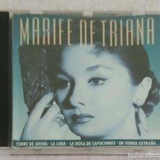 CDs de Música: MARIFE DE TRIANA (TORRE DE ARENA) CD 1992. Lote 205725983