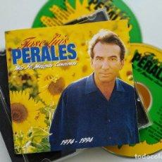 CDs de Música: CD DOBLE, JOSE LUIS PERALES - MIS 30 MEJORES CANCIONES, ESPAÑA 1994, CBS/SONY477981 2 (VG+_VG+). Lote 205729592