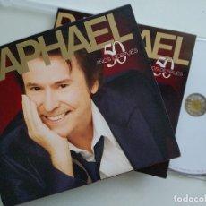 CDs de Música: CD, RAPHAEL - 50 AÑOS DESPUÉS, ESPAÑA 2008, COMO NUEVO, (NM_NM). Lote 205730037