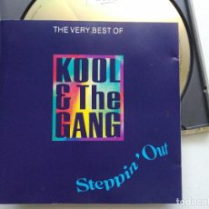 CDs de Música: CD KOOL & THE GANG, STEPPIN´OUT (THE VERY BEST OF), UK 1992, (VG+_VG+). Lote 205731126