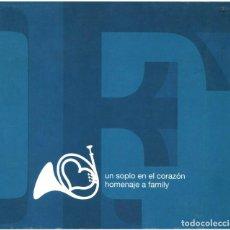 CDs de Música: VVAA - UN SOPLO EN EL CORAZÓN, HOMENAJE A FAMILY - CD SPAIN 2003 - SINEDÍN MUSIC SM-064 ROCKDELUX. Lote 205731291