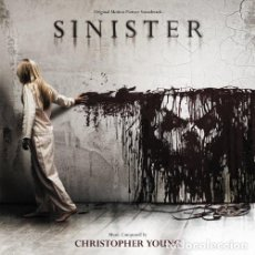 CDs de Música: SINISTER / CHRISTOPHER YOUNG CD BSO. Lote 205732623
