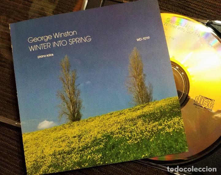 CD GEORGE WINSTON - WINTER INTO SPRING, REEDICIÓN USA, WD-1019 (VG++_VG++) (Música - CD's New age)