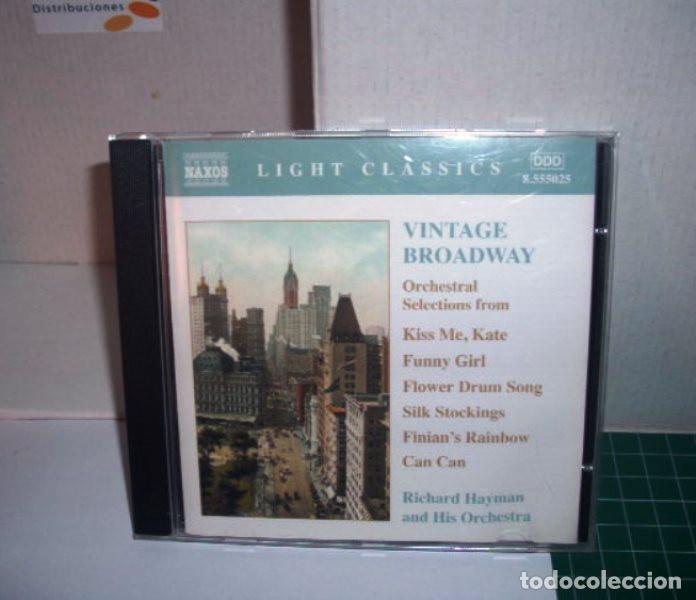 VINTAGE BROADWAY, RICHARD HAYMAN AND HIS ORCHESTRA (Música - CD's World Music)