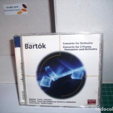 CDs de Música: BARTOK CONCERTO FOR 2 PIANOS , PERCUSSION & ORCHESTRA. Lote 205734360