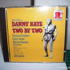 CDs de Música: DANNY KAYE, RICHARD RODGERS TWO BY TWO US LP COLUMBIA 30338. Lote 205735332