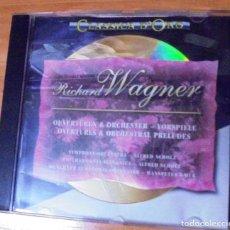 CDs de Música: CD RICHARD WAGNER CLASSICA DE ORO 1994. Lote 205735973