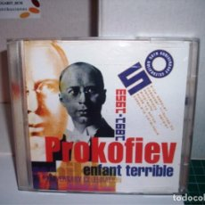 CDs de Música: PROKOFIEV ENFANT TERRIBLE CD NUEVO. Lote 205736658