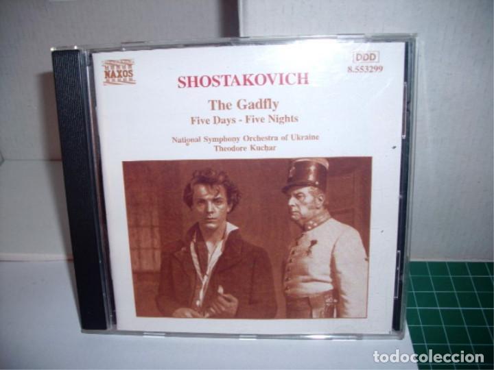 SHOSTAKOVICH: THE GADFLY/FIVE DAYS-FIVE NIGHTS [CD] (Música - CD's World Music)