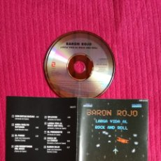CDs de Música: BARON ROJO: LARGA VIDA AL ROCK AND ROLL. CD 1990 ZAFIRO.. Lote 205750327
