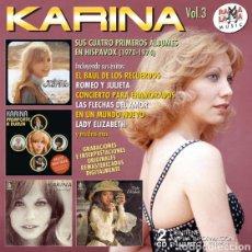 CDs de Música: KARINA, VOL.3, SUS CUATRO PRIMEROS ÁLBUMES EN HISPAVOX, (1970 - 1974). Lote 205753847