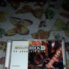 CDs de Música: DOBLE CD ABSOLUTE ROCK. 24 ABSOLUTE HITS. VARIOS ARTISTAS. EDICION ARCADE DE 1996.. Lote 205755113
