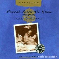 CDs de Música: NUSRAT FATEH ALI KHAN AND PARTY* – BACK TO QAWWALI - LIVE AT THÉATRE DE LA VILLE - PARIS - 1995. Lote 205760411