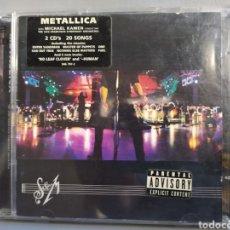 CDs de Música: CD METALLICA 2CD CON LA ORQUESTA SIMFONICA DE SANT FRANCISCO. Lote 205763568