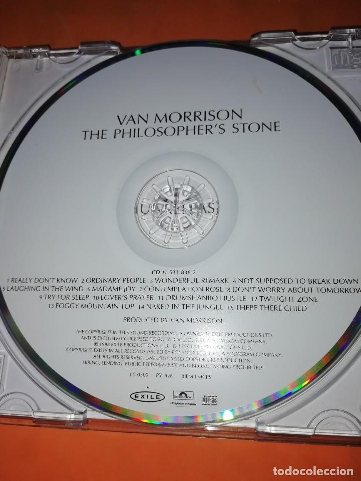CDs de Música: VAN MORRISON. THE PHILOSOPHERS STONE. DOBLE CD. EXILE PRODUCTIONS 1998. RARO. - Foto 12 - 205780721